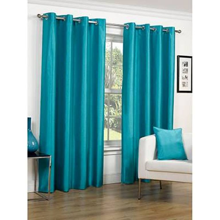 Superb Teal Blackout Eyelet Curtains Avarii Org Home Design Best Ideas