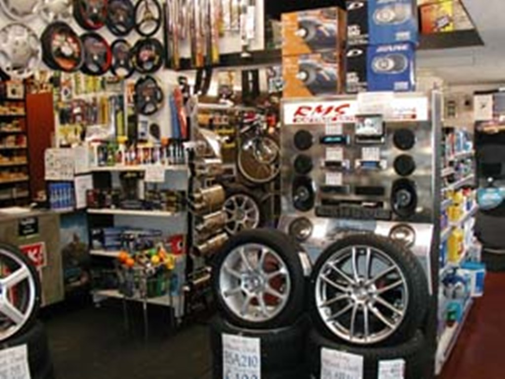 servicing both retail and trade with parts and accessories including all parts for m o t and car or van graphics category car accessories shops