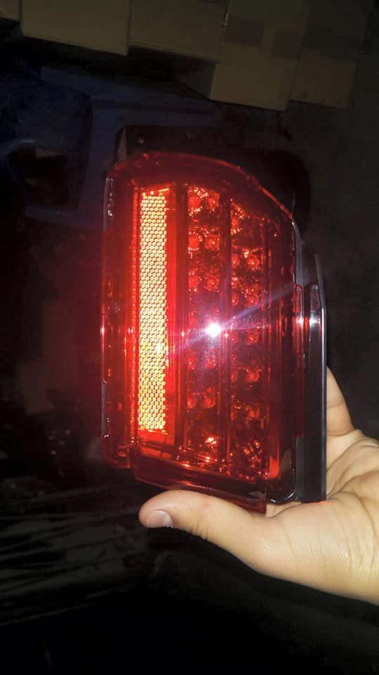 iko co ke - Prado 150 rear reflector led type